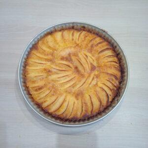 Recept appeltaart.