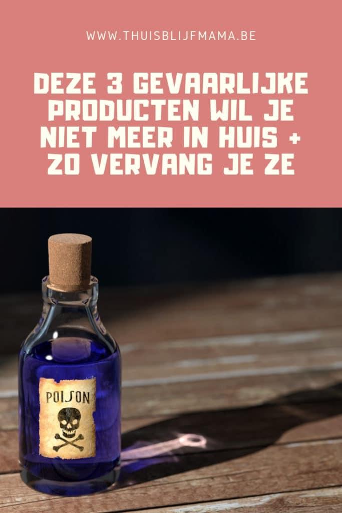 Gevaarlijke producten.
