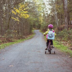 kind op fiets