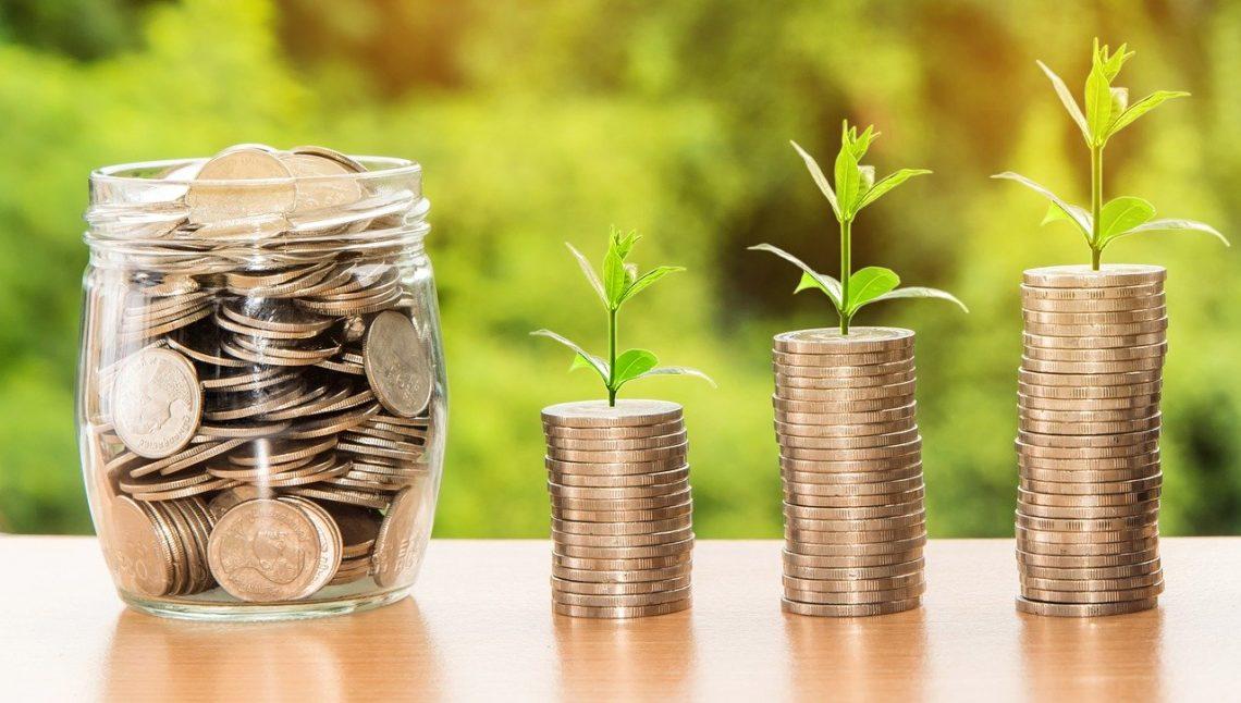 Leven op 1 inkomen: foto van kleingeld.