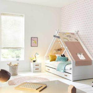 Leuke kinderbedden een slaapkamer met tipibed