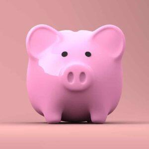 Kind leren sparen: spaarvarken