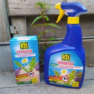 Onkruid verwijderen met natuurlijke producten