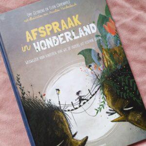 Boek review Afspraak in Wonderland: een boek voor kinderen van wie de ouders gaan scheiden.